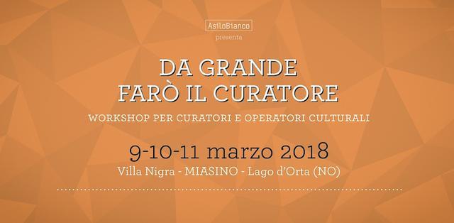 ASILO BIANCO - DA GRANDE FARO' IL CURATORE