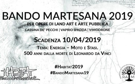 BANDO MARTESANA 2019 - HABITAT SCENARI POSSIBILI