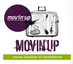MOVIN'UP 20a EDIZIONE - NUOVA SESSIONE DI CANDIDATURE