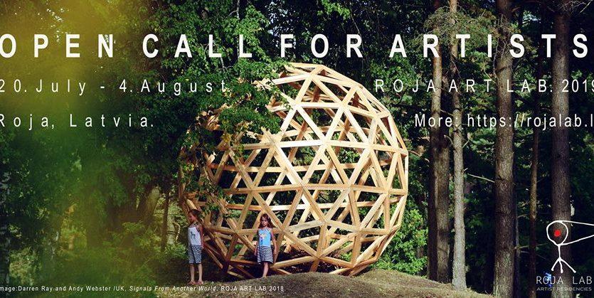 SUMMER 2019 OPEN CALL FOR ARTISTS ROJA ART LAB