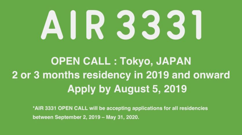 AIR 3331 OPEN CALL