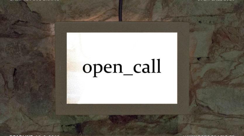 OPEN_CALL_Galerie Fotografic Prague