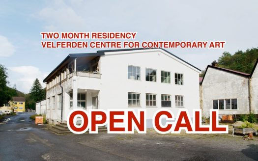 Open Call Velferden Centre for Contemporary Art