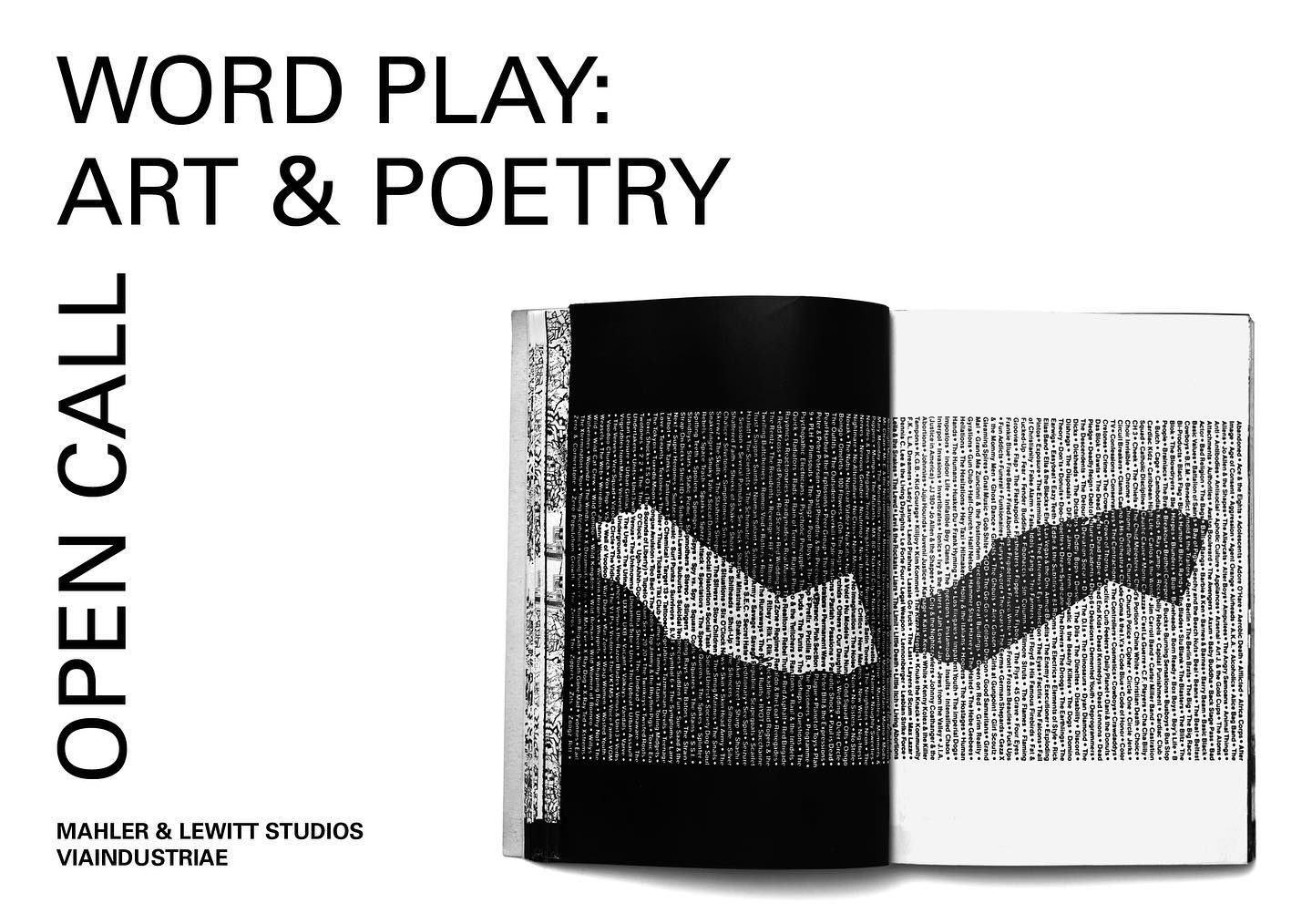 WORD PLAY: ART & POETRY
